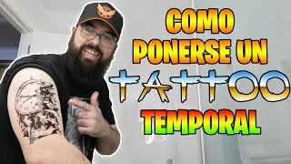 COMO PONERSE UN TATTOO TEMPORAL - EL TITORIAL!