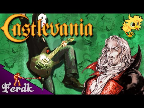 "Castlevania: Symphony of the Night - ""Dracula's Castle"" 【Metal Guitar Cover】 by Ferdk"