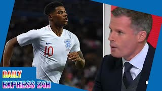 Jamie Carragher: Rashford may have to quit Man United