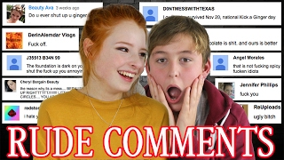 Reading Mean Comments / Hate Comments from Nasty YouTubers | NiliPOD