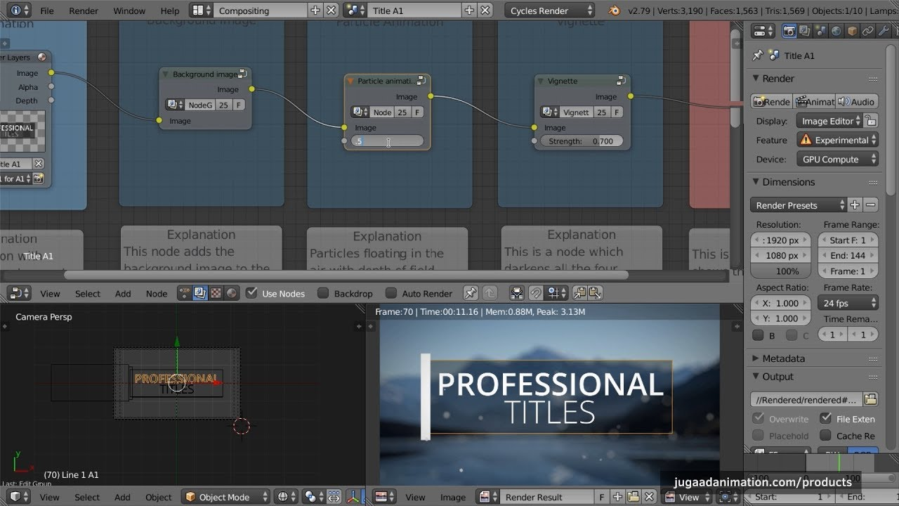 25 Professional Titles for Blender [$] - BlenderNation