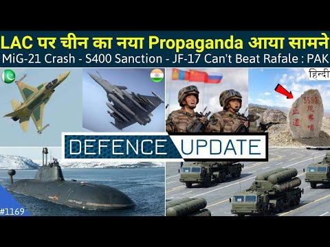 Defence Updates #1169 - MiG-21 Crash, China Propaganda Speci
