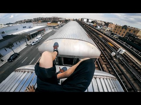 Train Surfing New York City (2016)