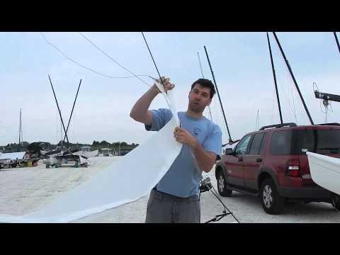 c94fb01185 Hobie 18 Jib rigging - YouTube