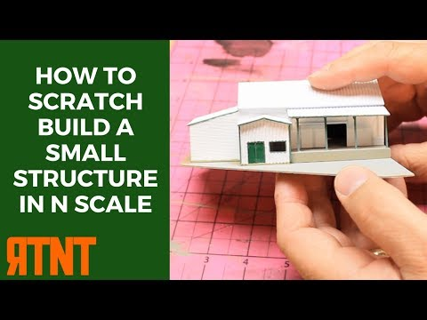 How to Scratch Build a Small Structure in N Scale