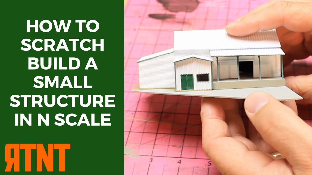 photo relating to Ho Scale Buildings Free Printable Plans named How in the direction of Scratch Produce a Very little Design and style inside of N Scale