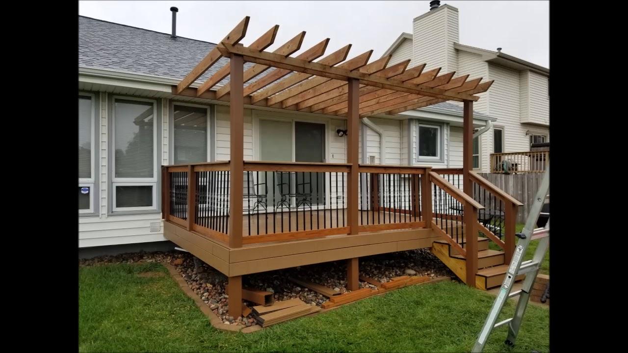 Best Pergola Builder Deck Contractor In Lincoln Ne Handyman Services