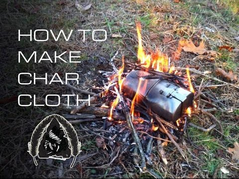 How to Make Char Cloth- Black Scout Tutorials