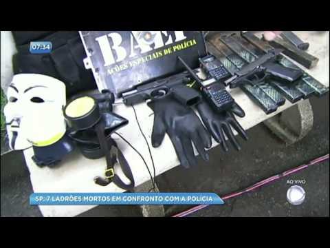 Bandidos morrem em confronto com a polícia em Campinas (SP)