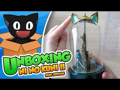 """¡Una edición digna de su Miaujestad! - Unboxing: Ni No Kuni II """"King Edition"""" (PS4)"""