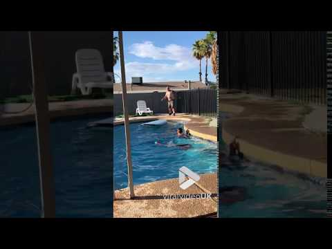 JROD - Watch This Guy Surf Across A Swimming Pool