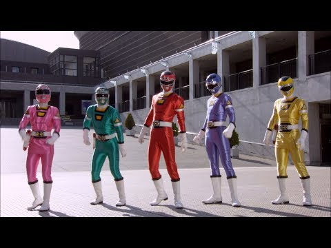 Power Rangers Super Megaforce - Love is in the Air - Power Rangers vs Invidious