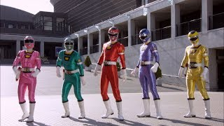 Power Rangers Super Megaforce - Love is in the Air - Power Rangers vs Invidious