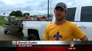 Cajun Navy gathers in Acadiana, heads to Texas