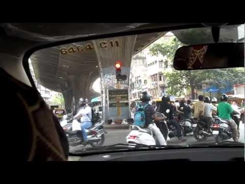 Trip to Chor bazaar in local Mumbai taxi