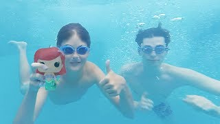 Swimming With The Little Mermaid!!