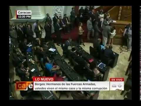 Declaraciones del presidente de la AN Julio Borges