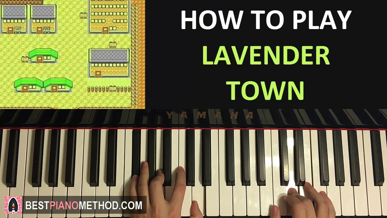 Download HOW TO PLAY - Pokemon Silver/Gold/Crystal - Lavender Town (Piano Tutorial Lesson)
