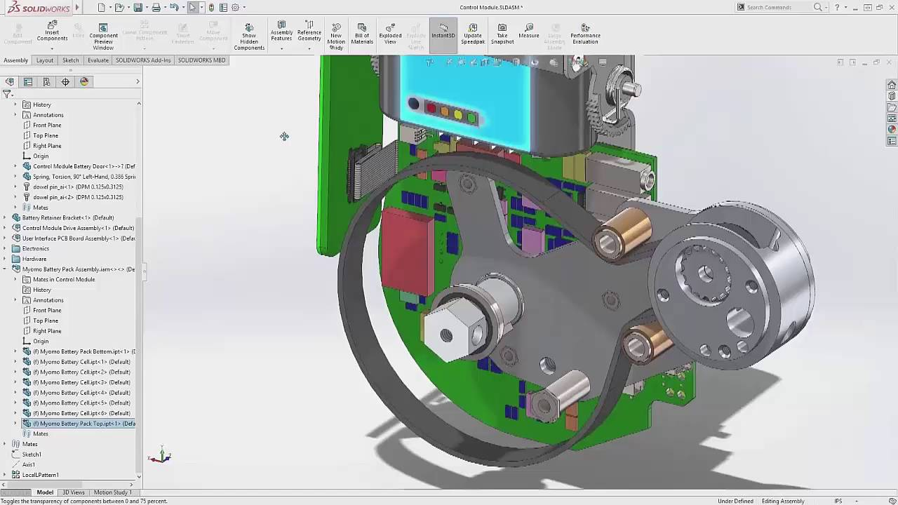 SOLIDWORKS 2017 - 3D Interconnect - YouTube