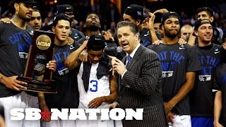 Someone finally challenged Kentucky and it was amazing