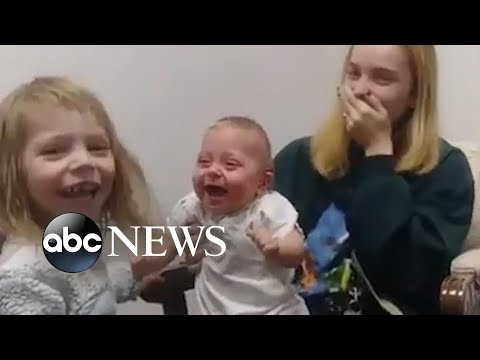 The Dave Ryan Show - (Watch) Baby Get Hearing Aids and Can't Stop Laughing
