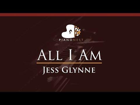 Jess Glynne - All I Am - HIGHER Key (Piano Karaoke / Sing Along)