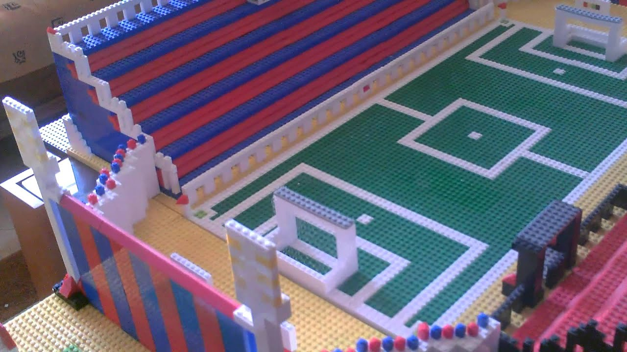 How To Build Lego Football Field