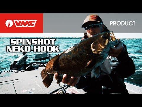 The Ultimate Drop Shot Set Up-VMC® Neko SpinShot® Hook