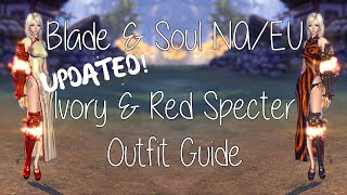 【Blade & Soul NA/EU】 Ivory and Red Specter Outfit Guide
