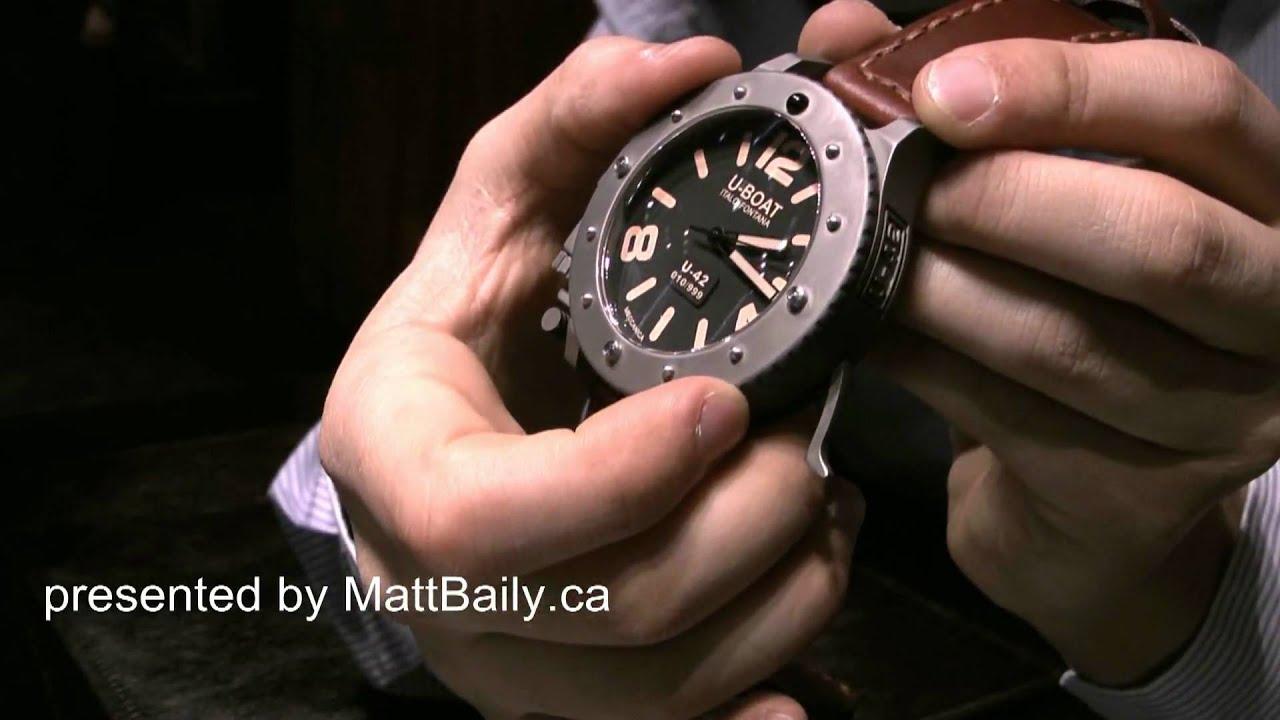 Amazoncom UBoat Mens Automatic Watch 7388 Watches