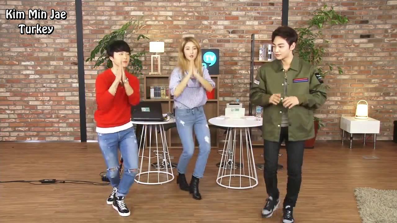 Kim Min Jae - (4minute) Hate dance cover