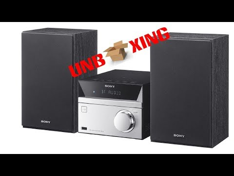 Unboxing Sony CMT SBT20   Micro Hifi