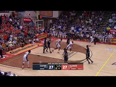 Highlights: Illinois vs. Xavier | Big Ten Basketball | Maui Invitational