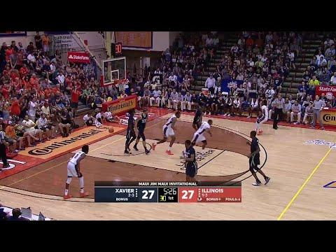 Highlights: Illinois vs. Xavier | Big Ten Basketball | Maui Invitational