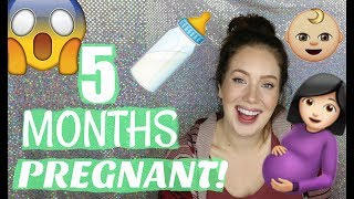 PREGNANCY UPDATE- 20 Weeks Pregnant | Symptoms, Belly Bump + More | Jade Madden