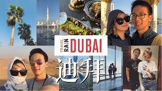拖了半年的迪拜 DUBAI VLOG / 冲沙 / 阿里法塔 / 最美清真寺 / 半路翻脸的我 / Rainology