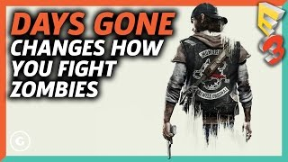 Days Gone Changes Everything About Zombie Games | E3 2017 GameSpot Show with Kinda Funny