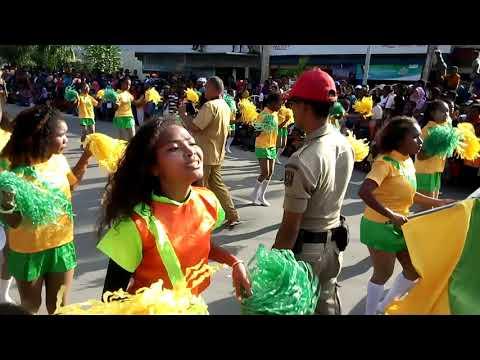 Karnaval kota biak 15 agustus 2017