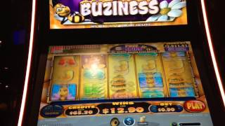 Honey Buziness Slot Machine Bonus Big Win