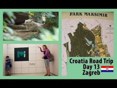Maxsimir Park & Museum of Illusions (Zagreb) - Day 13 Croatia Summer Road Trip || PartTimeWanderlust