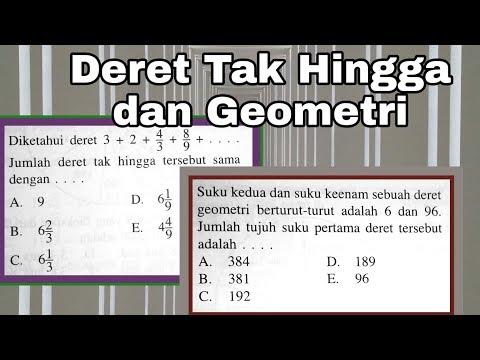 Deret Tak Hingga dan Deret Geometri