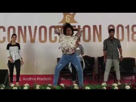 Rejoice 2k18 College Dance Performance  by CSE | Vignan University | Cultural night | Abid Syed