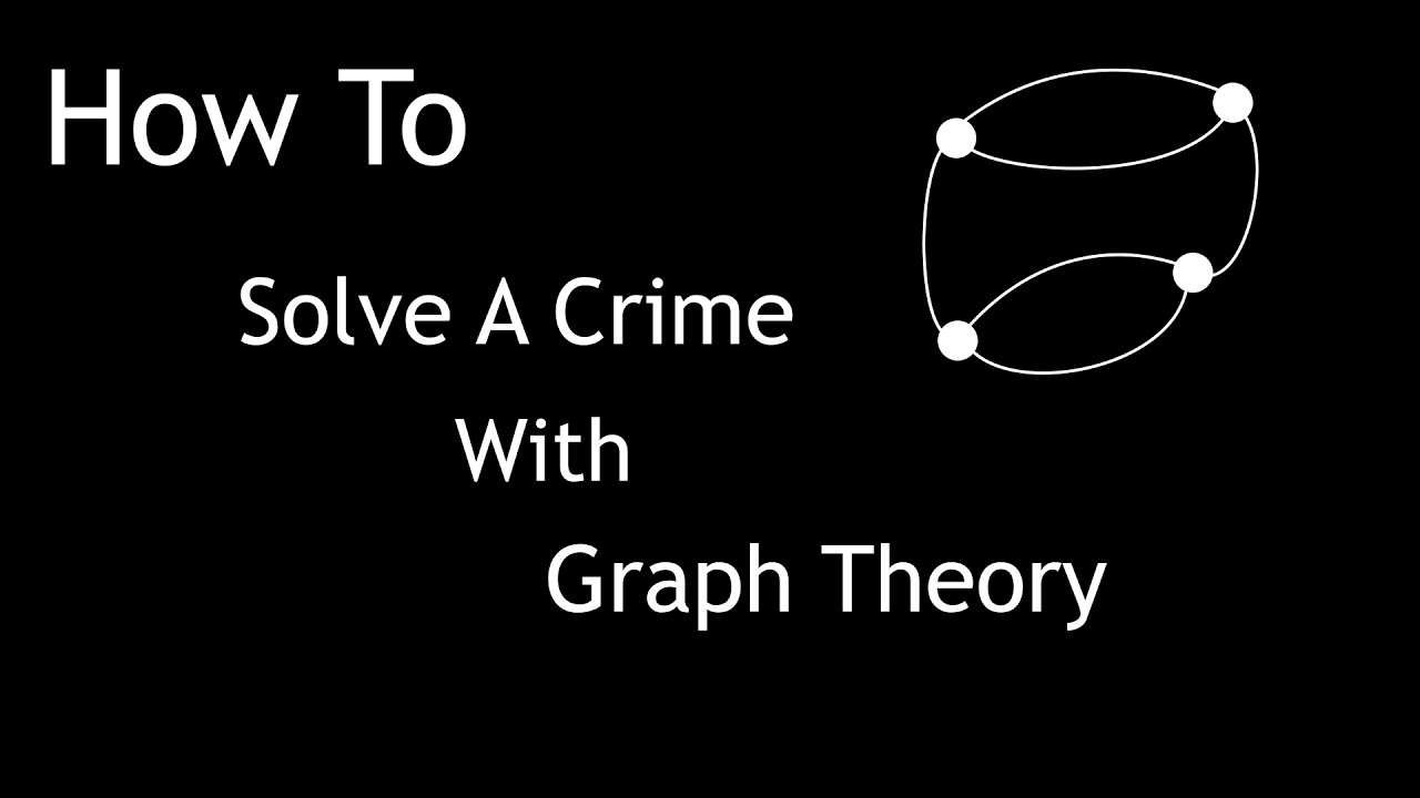 How To Solve A Crime With Graph Theory