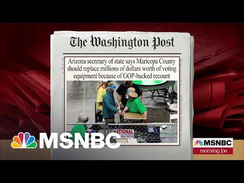 Joe: Conspiracy Theorists Are Desecrating Democracy   MSNBC