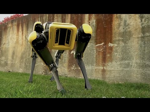 Download Youtube: SpotMini robot dog gets an update