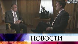 Сергей Лавров пошутил овозможной встрече Путина иТрампа втуалете.