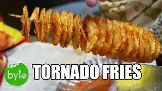 Tornado Fries, Indian Street Food, Street Food around the world, Smily Fries