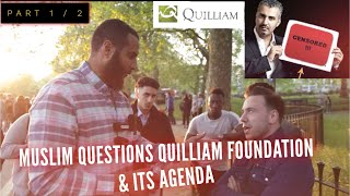 MOHAMMED HIJAB GRILLS Quilliam foundation's Adam Deen P-1/2