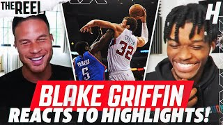 BLAKE GRIFFIN REACTS TO BLAKE GRIFFIN HIGHLIGHTS! | THE REEL S2 WITH @KOT4Q