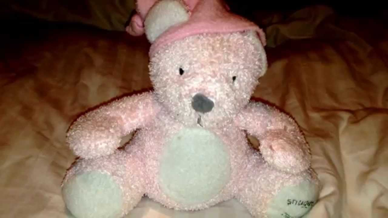SNUGGLE TIME Childrens Lullaby Bedtime Soft Musical Teddy ...